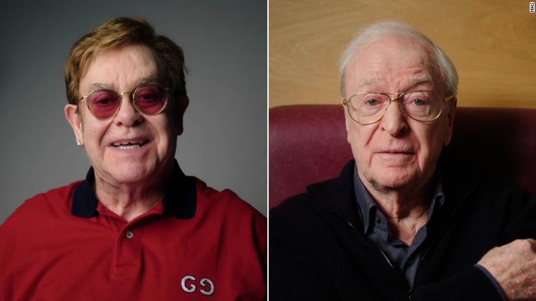 Έλτον Τζον και Μάικλ Κέιν σε διαφημιστικό σποτ για το εμβόλιο του κορονοϊού