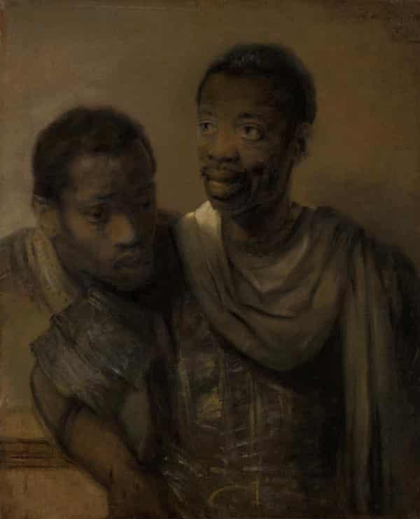 Ρεμπράντ, Portrait of Two African Men, φωτογραφία: Heritage Image Partnership Ltd