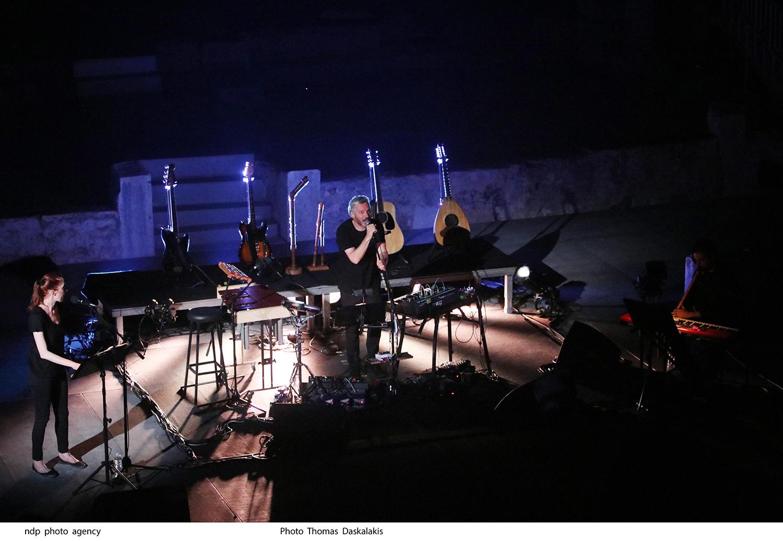 Live Looping Αλκίνοος Ιωαννίδης, ©Thomas Daskalakis