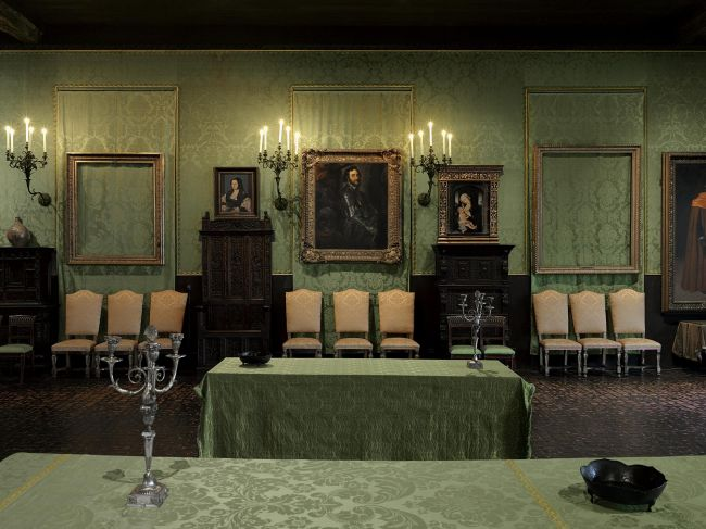 Οι πίνακες των κλεμμένων έργων του Ρέμπραντ. © Isabella Stewart Gardner Museum