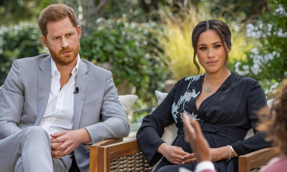 Πρίγκιπας Χάρι και Μέγκαν Μαρκλ, credits: CBS