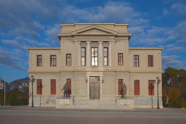 Δικαστικό μέγαρο Τρίπολης. Φωτογραφία: Στούντιο Διαμαντάκος