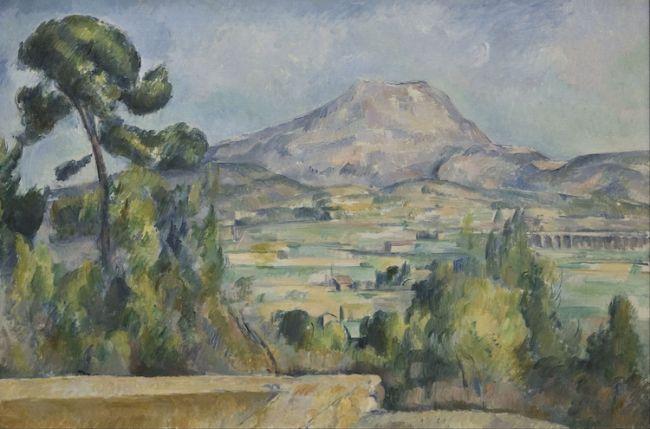 "Paul Cézanne, ""Mount Saint Victoire"" (ca. 1890) / Φωτογραφία: Google Arts & Culture via Wikimedia Commons Public Domain"