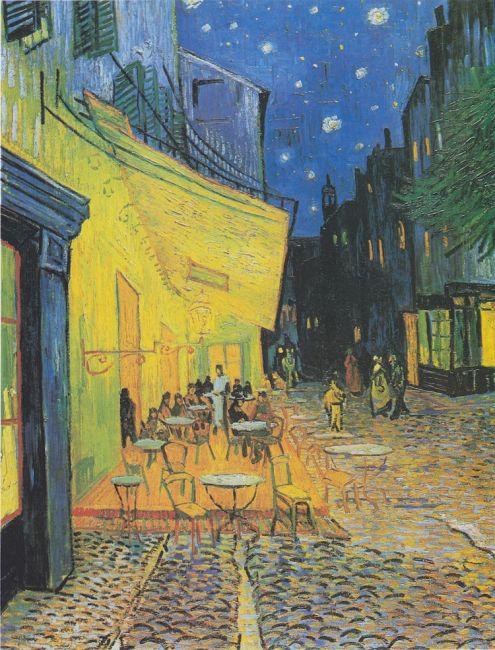 "Vincent Van Gogh, ""Café Terrace at Night"" (1888) / Φωτογραφία: Wikimedia Commons Public Domain"