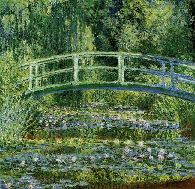 "Claude Monet, ""Water Lilies and Japanese Bridge"" (1897-1899) / Φωτογραφία: The Athenaeum via Wikimedia Commons Public Domain"