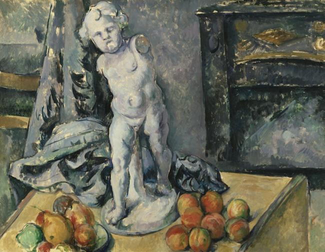"Paul Cézanne, ""Still Life with Plaster Cupid"" (ca. 1890s) / Φωτογραφία: Nationalmuseum via Wikimedia Commons Public Domain)"