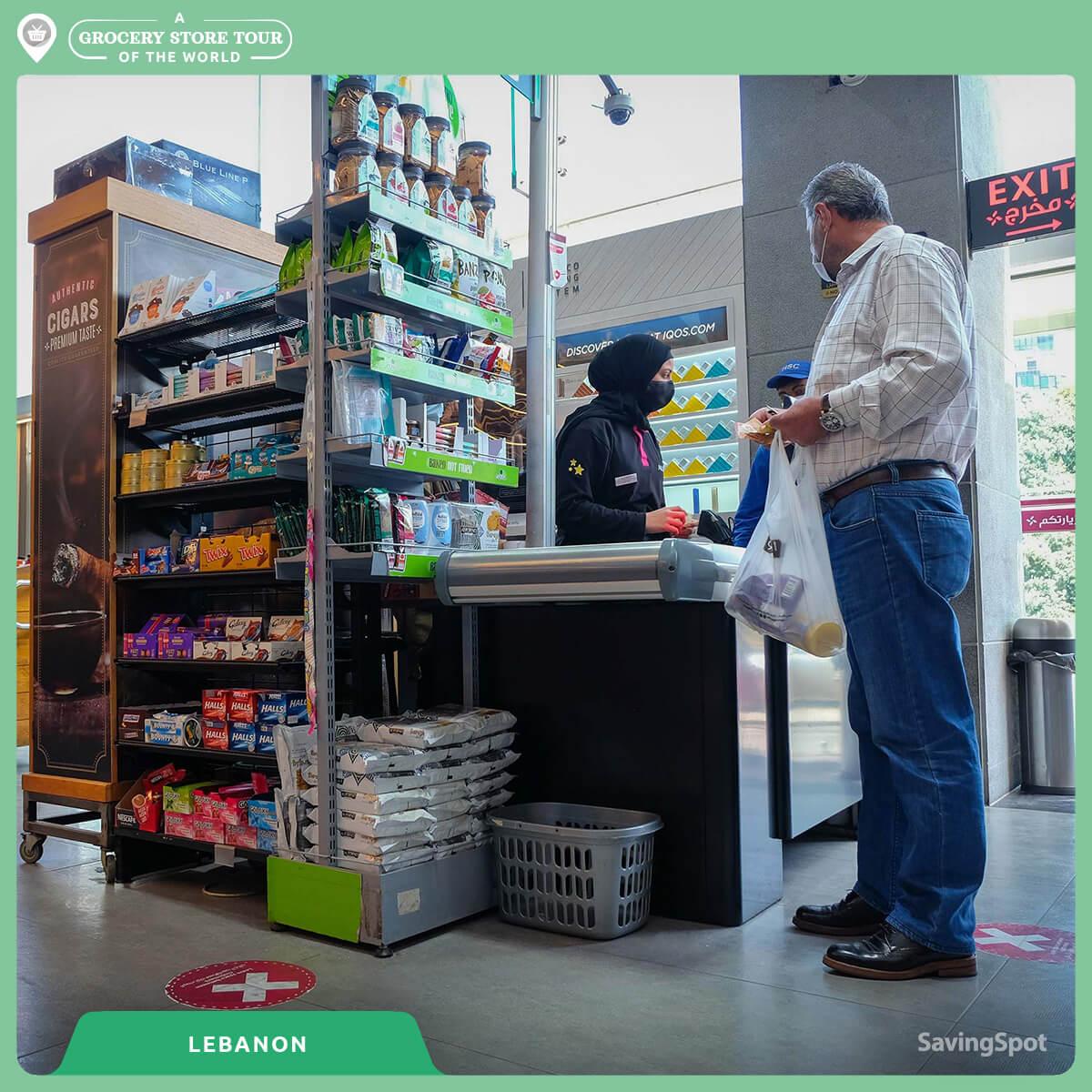 Τα ταμεία στον Λίβανο. Φωτογραφία: SavingSpot