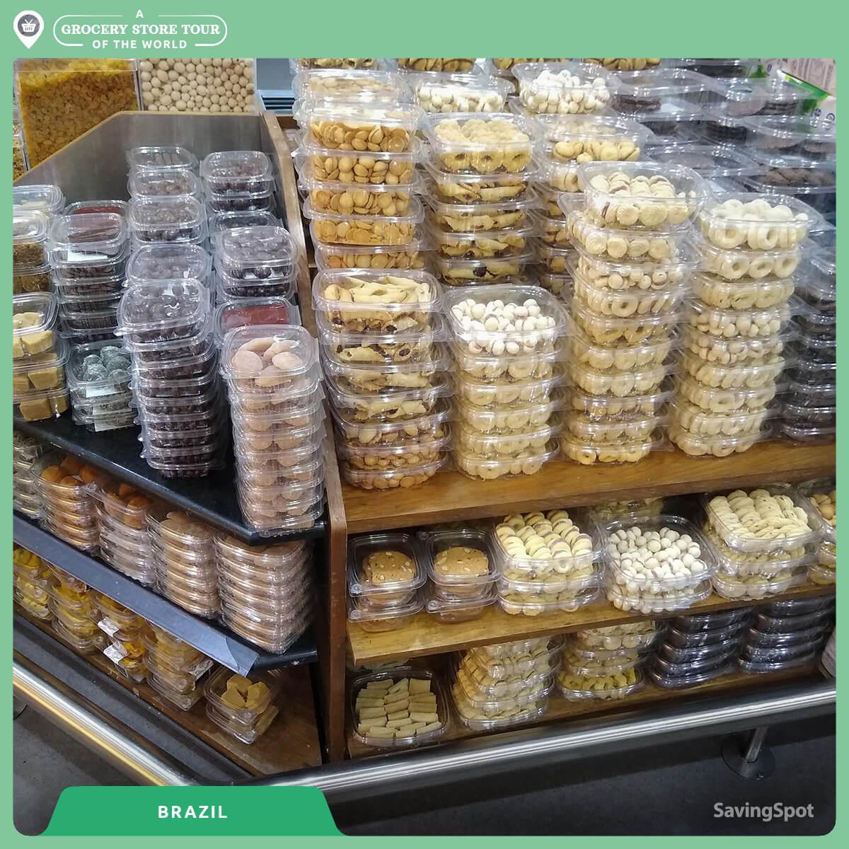 Ο διάδρομος με τα γλυκά στην Βραζιλία. Φωτογραφία: SavingSpot