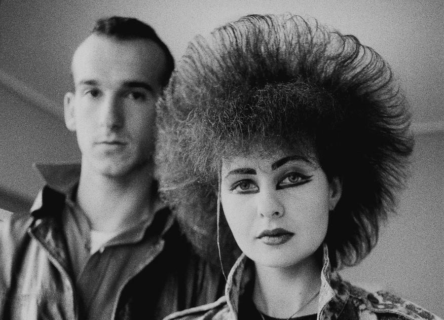 Γιώργος Τουρκοβασίλης, Λάμπρος (R. R. Hearse) με τη φίλη του Νάνσυ, 1984 (λεπτομέρεια)