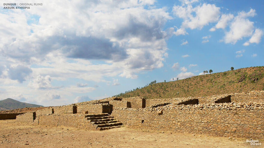 Dungur Palace, «Palace of the Queen of Sheba», Ethiopia