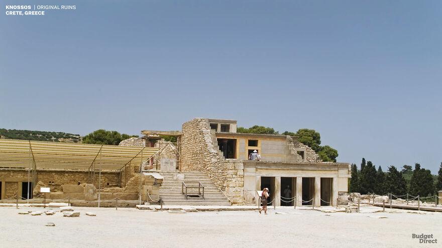 Knossos Palace, Greece