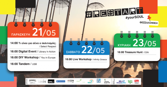 Πρόγραμμα δράσεων, Θεσσαλονίκη