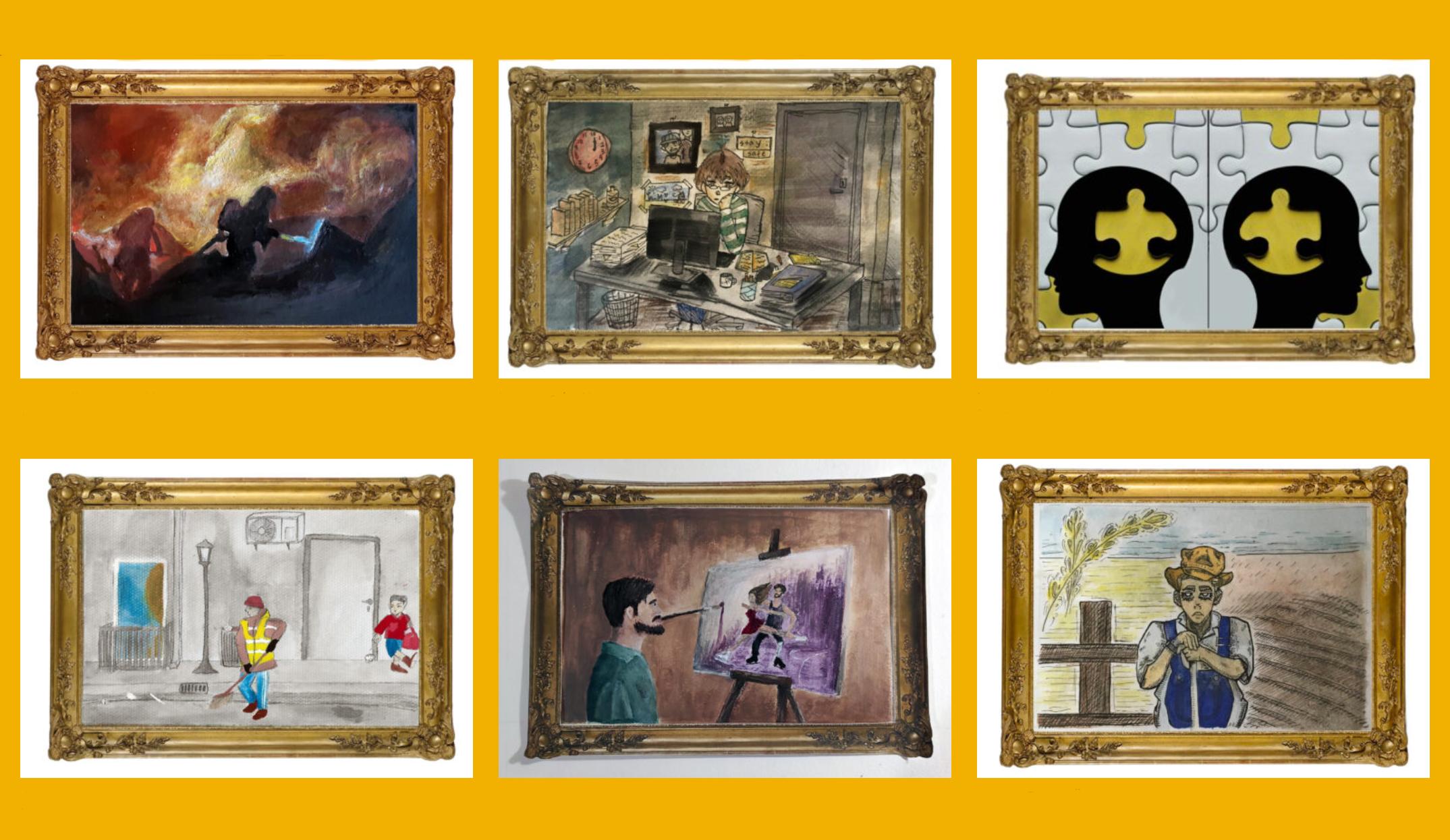 Screenshot online exhibition 3