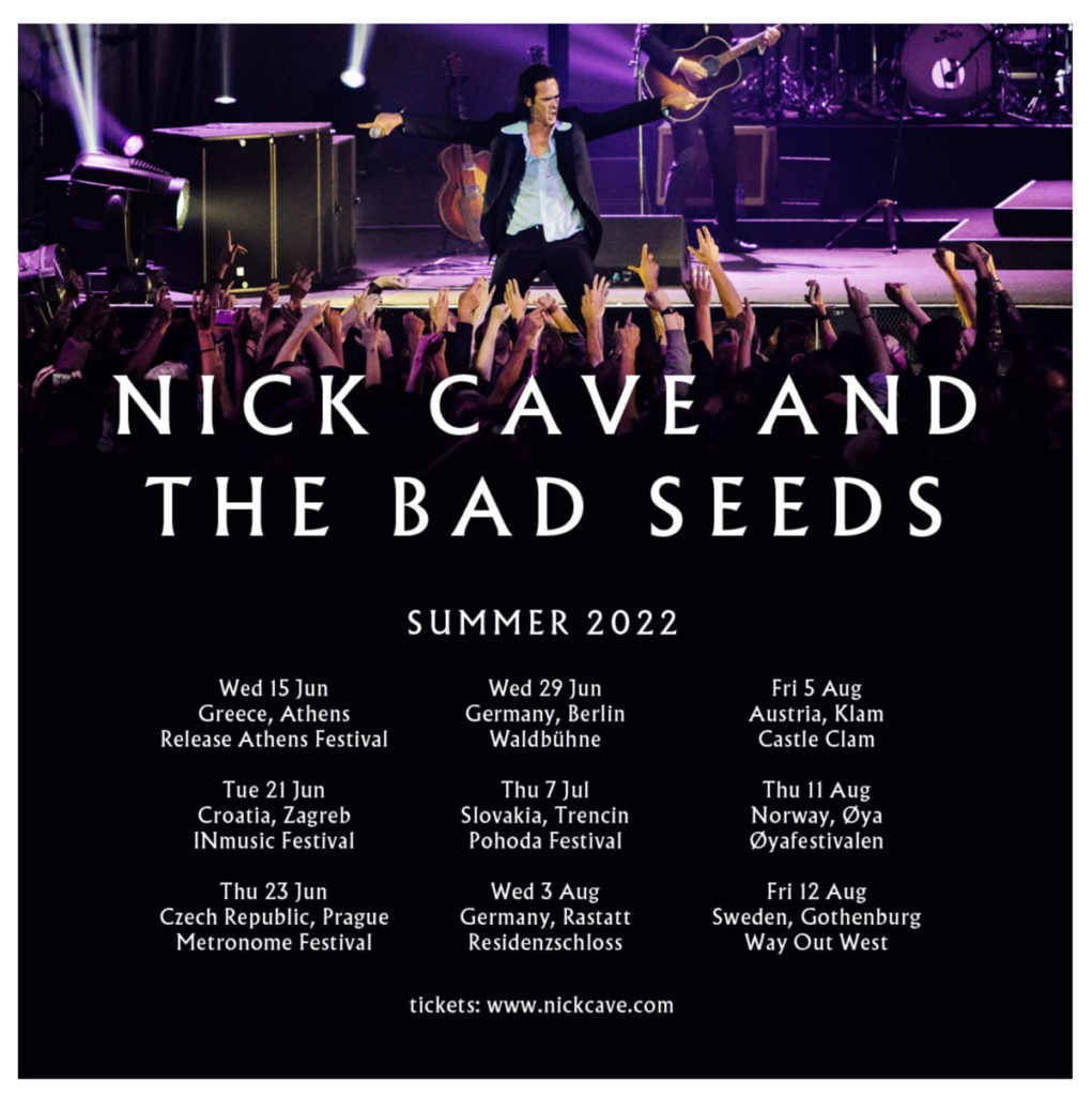 Οι Nick Cave & The Bad Seeds σε περιοδεία