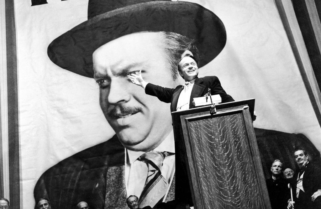 Ο Όρσον Γουέλς στον «Πολίτη Κέιν»