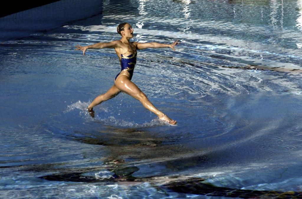 Γιάννης Μπεχράκης /Reuters, Απρίλιος 2004, Συγχρονική Κολύμβηση, Προκριματικά Ολυμπιάδας 2004