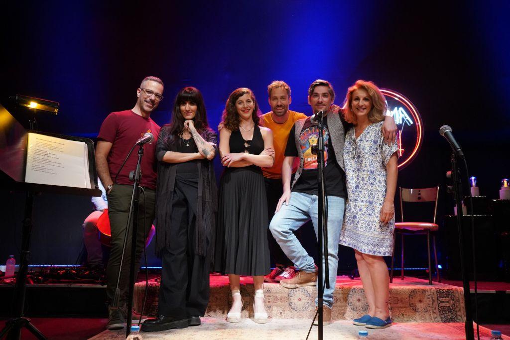 Συναυλία στο Ραδιόφωνο με θέμα το Θεατρικό Τραγούδι. Photo credits:Αντώνης Θεοδωρίδης