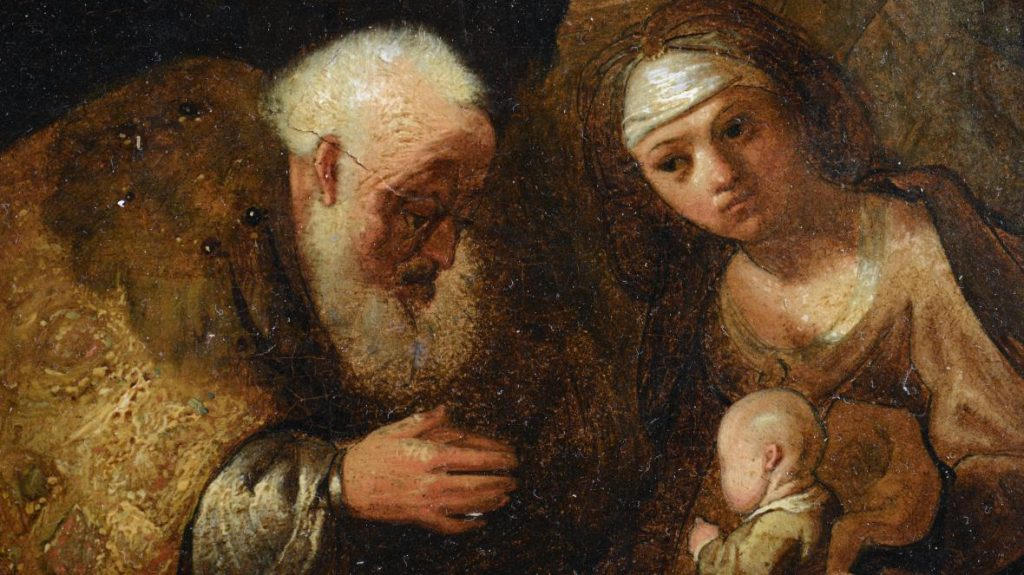 Rembrandt van Rijn, The Adoration of the Magi (1632–33). Courtesy of the Fondazione Patrimonio Italia.