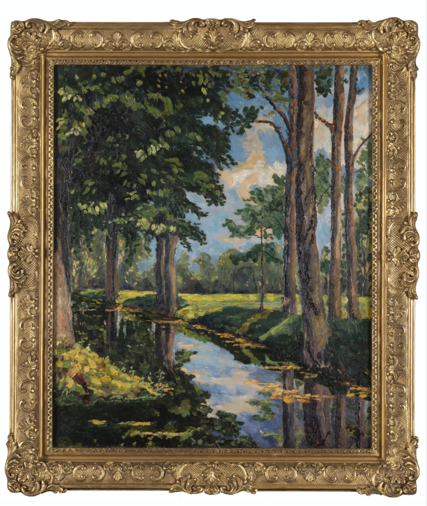 Ο πίνακας που δώρισε ο Τσώρτσιλ στον Αριστοτέλη Ωνάση θα πουληθεί σε δημοπρασία, credits: Phillips