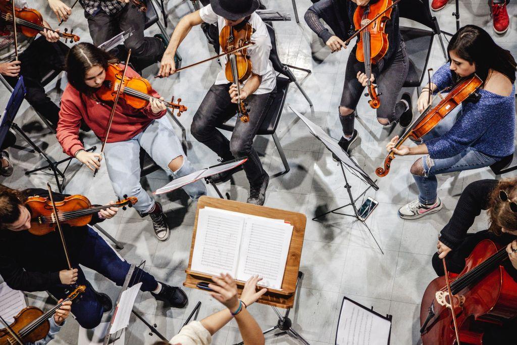 El Sistema Greece Youth Orchestra   Φώτο: Kasia Łukasiewicz