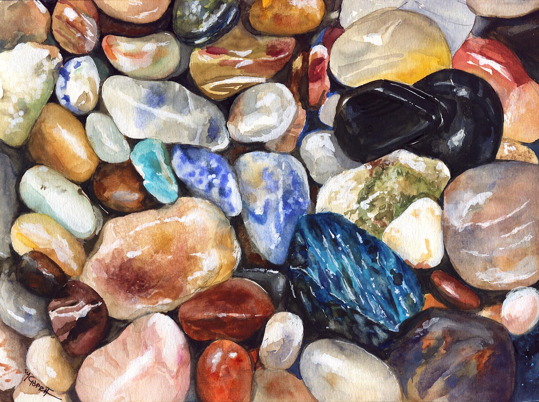 Marialena Sarris, Pebbles