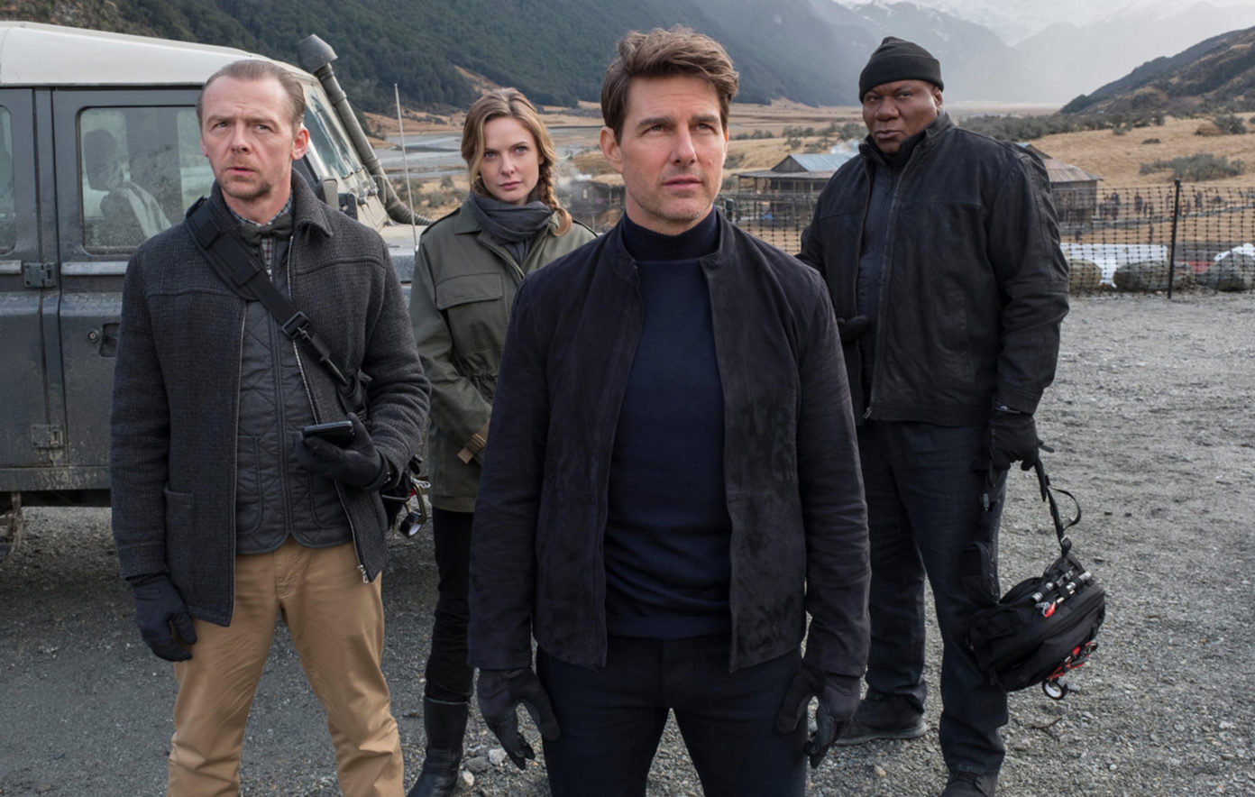 Simon Pegg, Rebecca Ferguson, Tom Cruise και Ving Rhames στο Mission: Impossible – Fallout. Credit: Paramount pictures