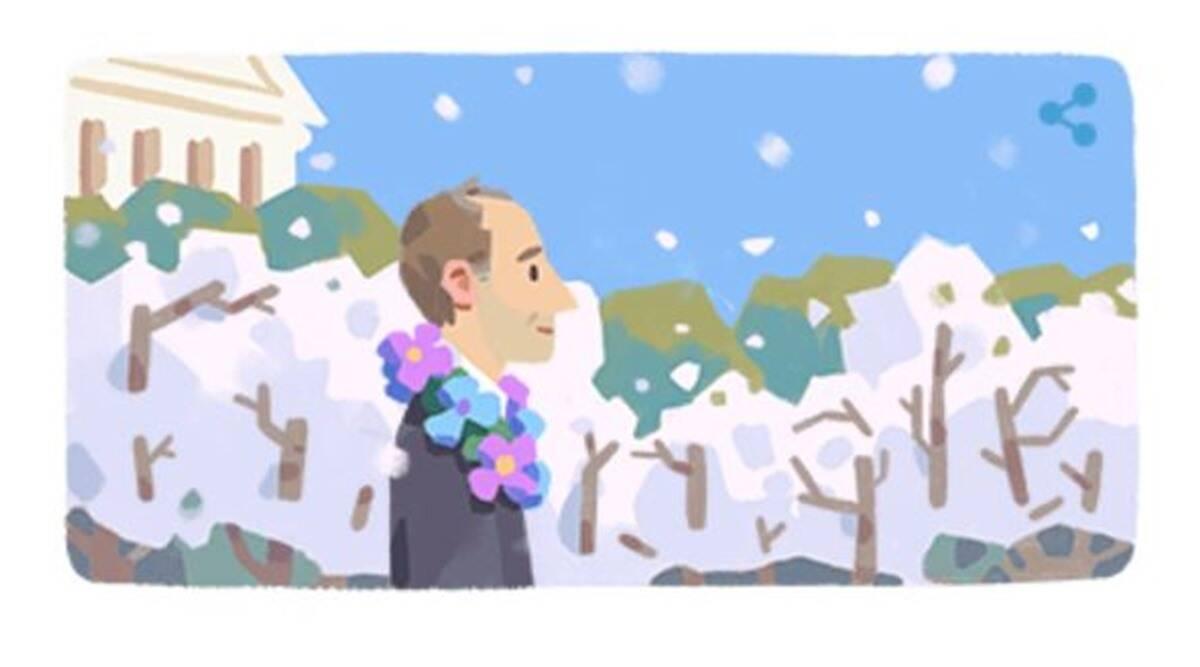 Το doodle της Google για τον Frank Kameny