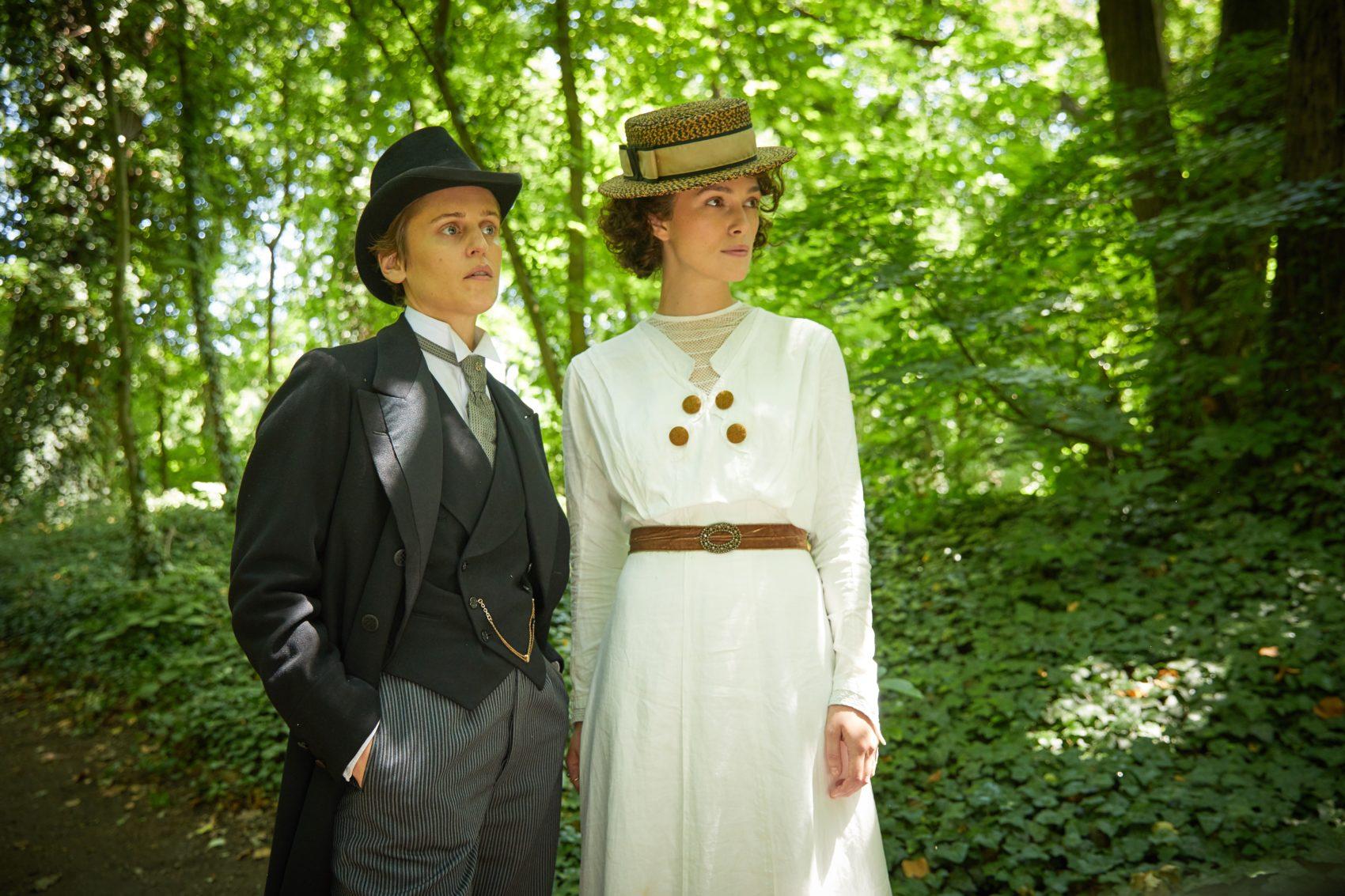 Ντενίζ Γκοφ και Κίρα Νάιτλι στο Collette