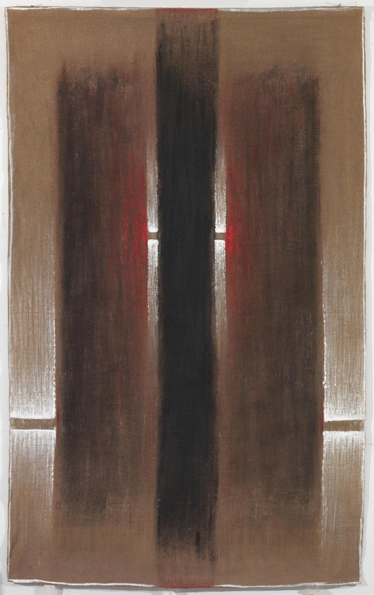 """Δανιήλ Παναγόπουλος- """"ΙΙΙ-V/82"""", 1982 Λάδι σε λινάτσα- 184 x 115 εκ."""