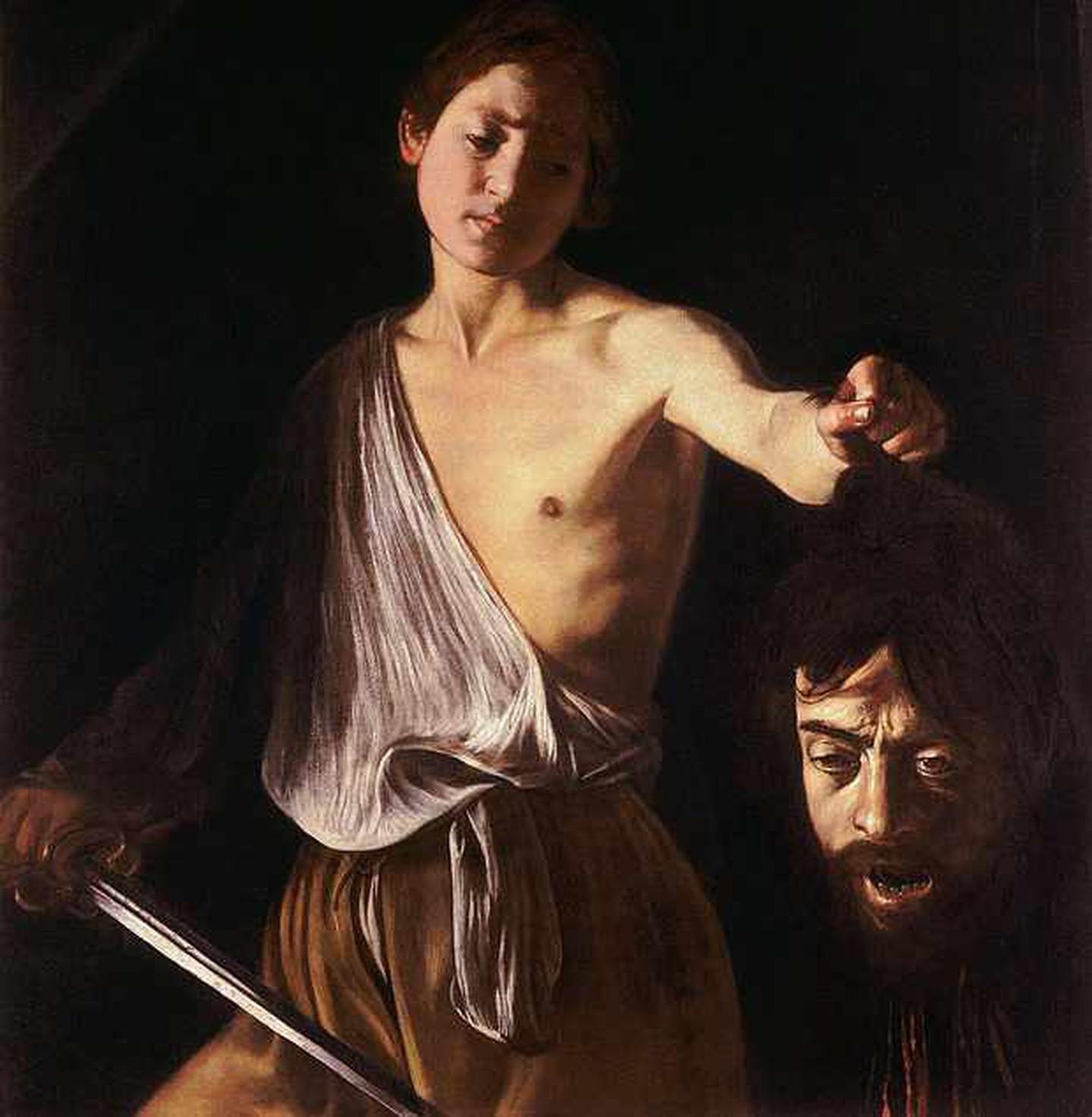 Ο Δαβίδ με το κεφάλι του Γολιάθ, 1607. Φωτογραφία: Lafit86/WikiCommons/Public Domian