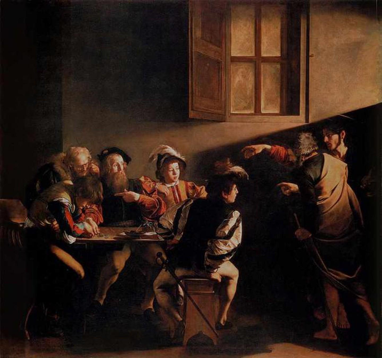 Καραβάτζο, Η Κλήση του Αγίου Ματθαίου. Φωτογραφία: SUNY College at Oneonta, NY/WikiCommons/Public Domain