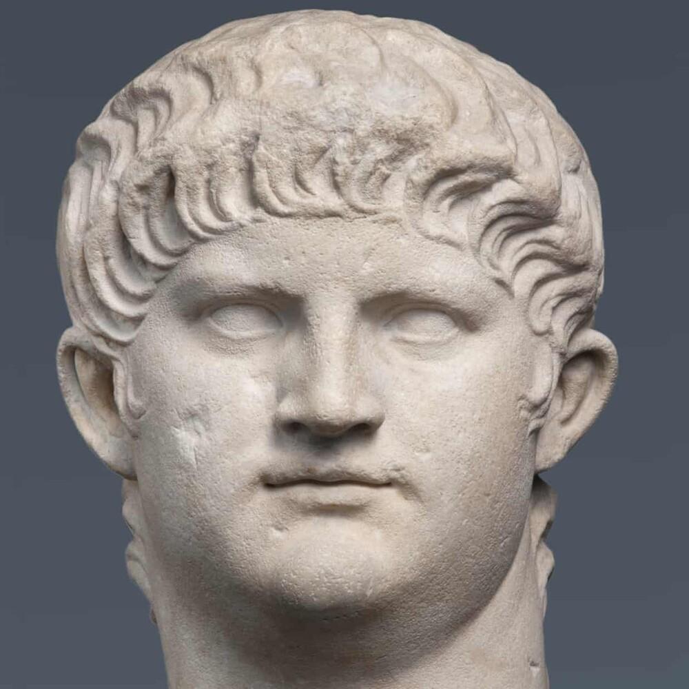 Μαρμάρινη κεφαλή του Νέρωνα. Φωτογραφία: British Museum