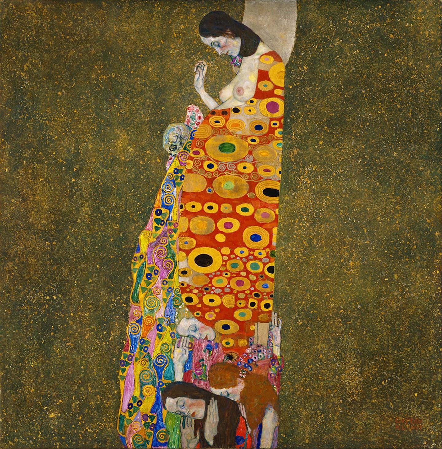 Γκούσταφ Κλιμτ, Ελπίδα ΙΙ, 1907-1908. Φωτογραφία: Museum of Modern Art/WikiCommons