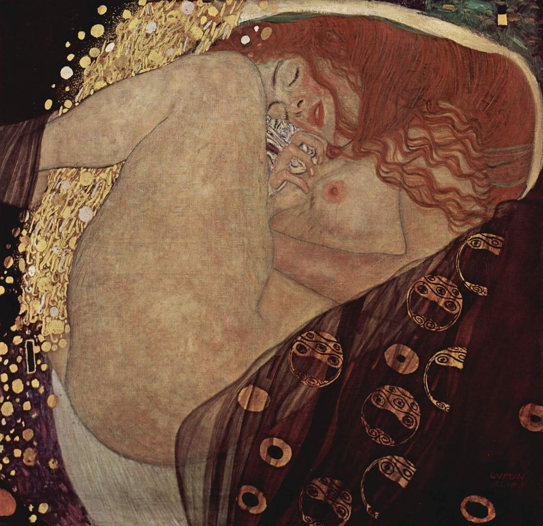 Γκούσταφ Κλιμτ, Δανάη, 1907. Φωτογραφία: Galerie Würthle/WikiCommons