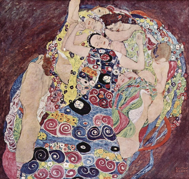 Γκούσταφ Κλιμτ, Η Παρθένος, 1913. Φωτογραφία: National Gallery in Prague/WikiCommons