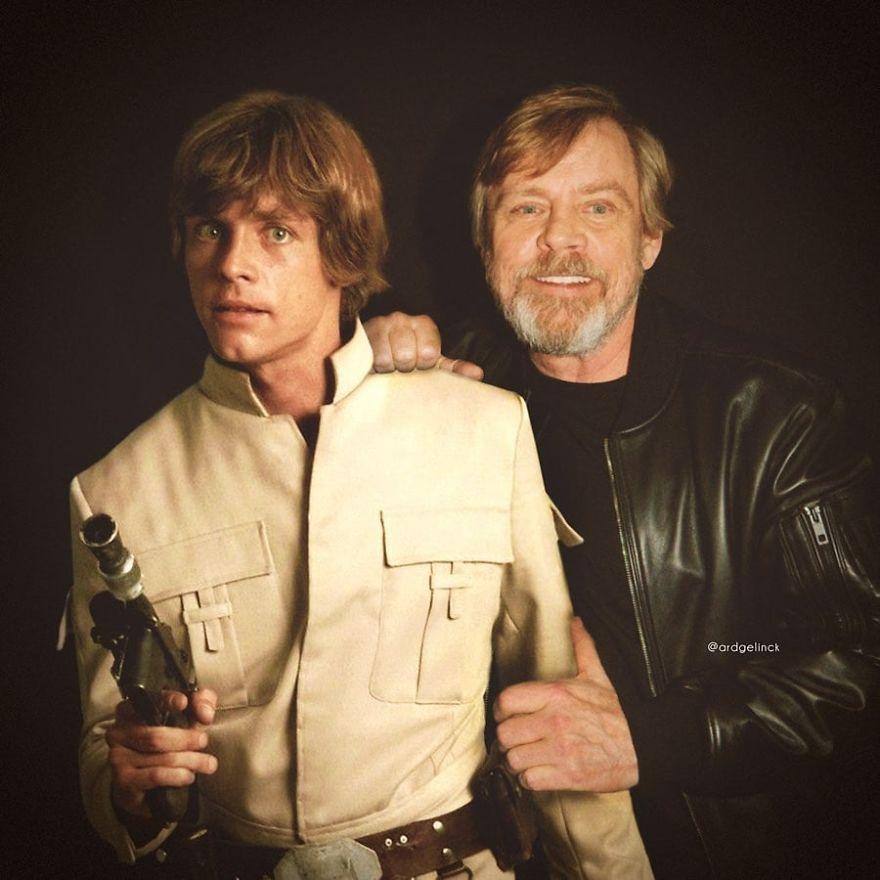 Ο Μαρκ Χάμιλ και ο χαρακτήρας του Star Wars, Λουκ Σκάιγουοκερ