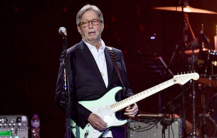Eric Clapton Credit: Getty
