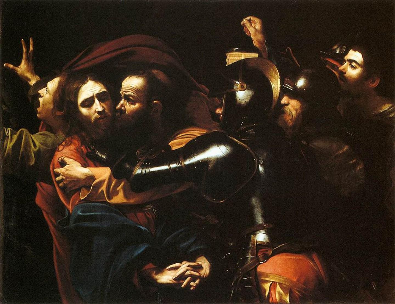 Η σύλληψη του Χριστού, 1602. Φωτογραφία: Caravaggio/WikiCommons
