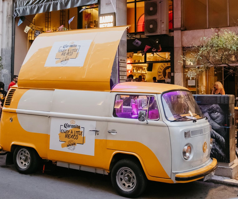 Το Coronita Van ξεκινά ένα απολαυστικό summer tour στην Αττική