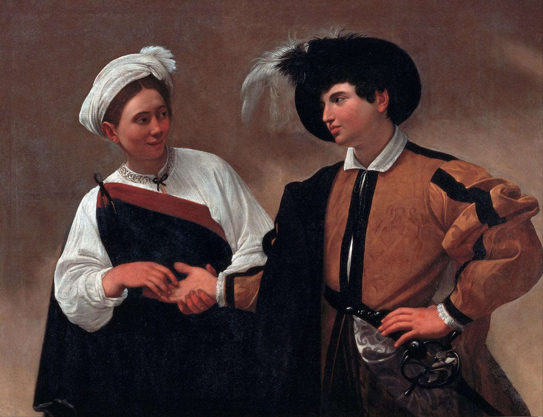 Η Μάντισσα. Φωτογραφία: Caravaggio/WikiCommons
