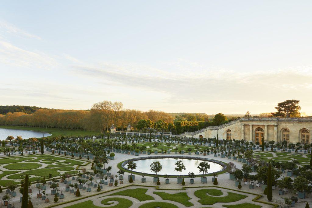 Ο Πορτοκαλαιώνας. Photo courtesy of Airelles Château de Versailles, Le Grand Contrôle.