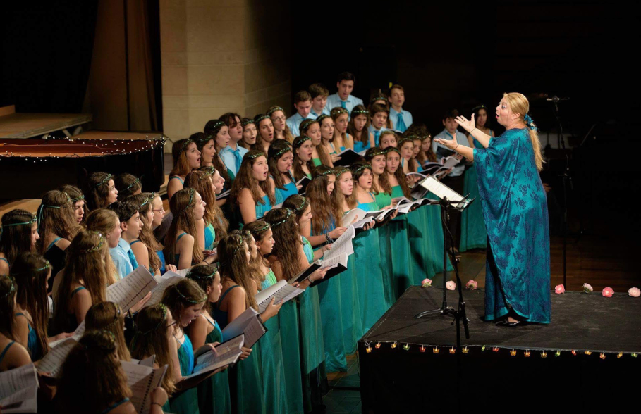 Εδώ Λιλιπούπολη, χορωδία Rosarte, photo credits: Στάθης Δήμου