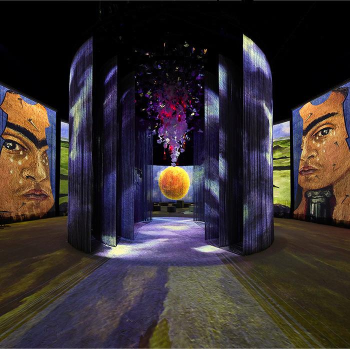 """""""Frida: La Experiencia Immersiva."""" Photo courtesy of Cocolab."""