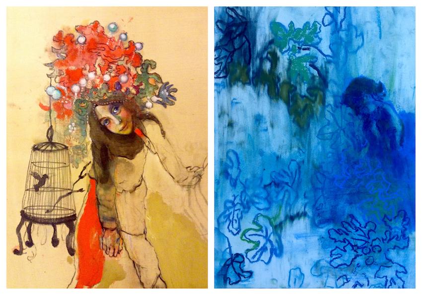 Summer Blue: Έκθεση ζωγραφικής της Μαρίας Γιαννακάκη στη Λήμνο