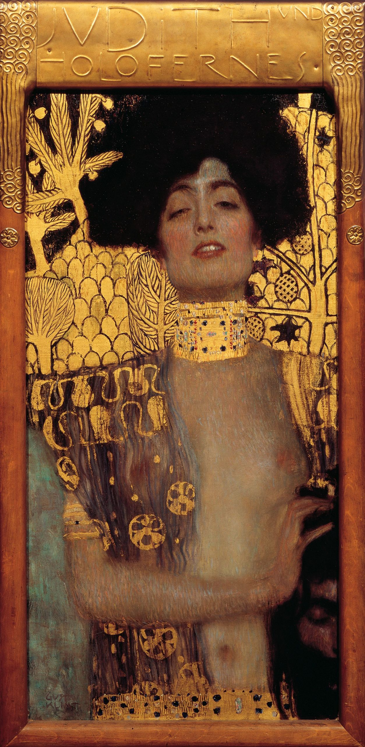 Γκούσταφ Κλιμτ, Η Ιουδήθ και το κεφάλι του Ολοφέρνη, 1901. Φωτογραφία: Österreichische Galerie Belvedere/WikiCommons