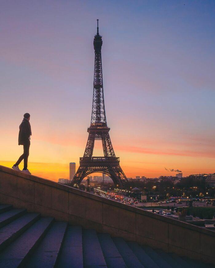 Πύργος του Άιφελ, Παρίσι, Γαλλία.