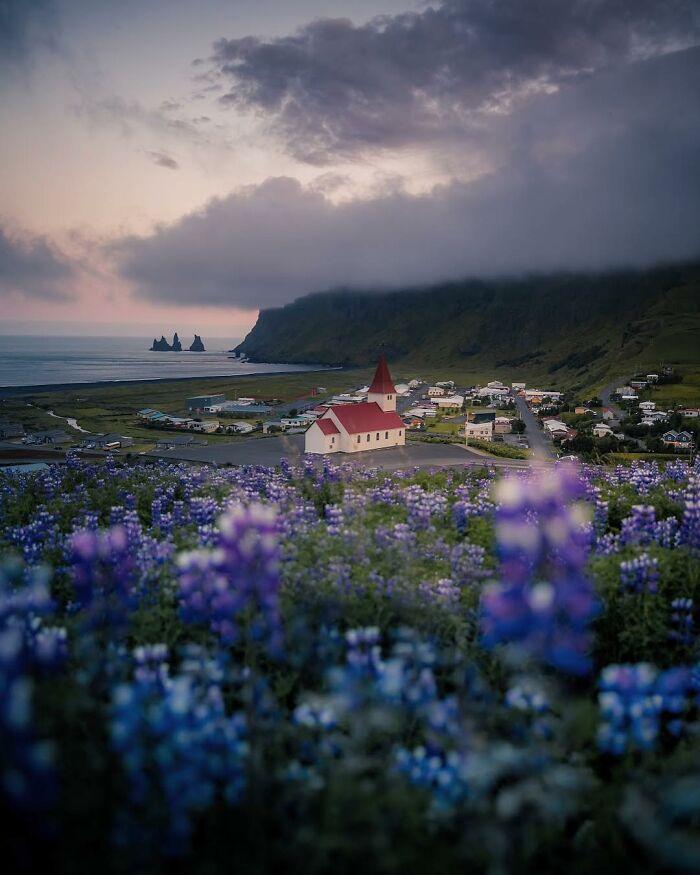 Το χωριό Βικ, Ισλανδία.