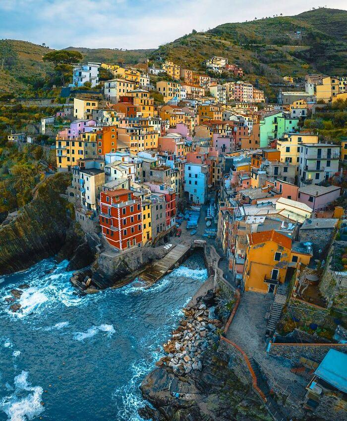 Cinque Terre, Ριβιέρα της Λιγουρίας, Ιταλία. Photo Credits: Davide Anzimanni