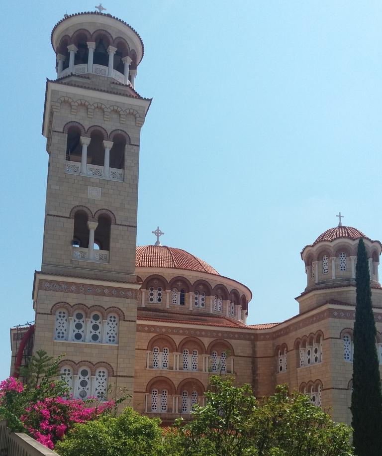 Το θαυματουργό μοναστήρι του Άγιου Νεκτάριου, φωτογραφία: Ειρήνη Μωραΐτη