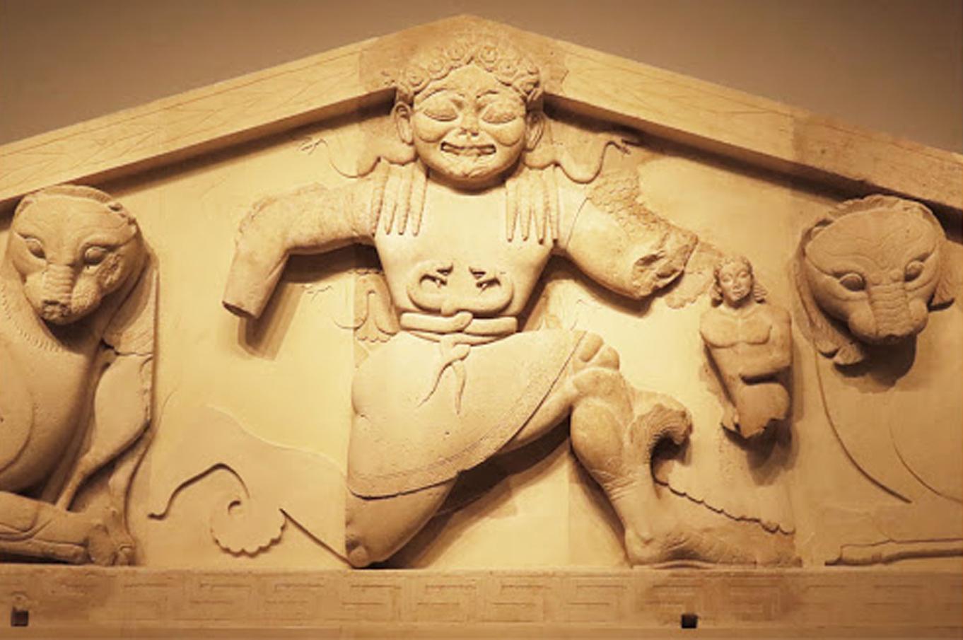 Γοργόνα-Μέδουσα, Αρχαιολογικό Μουσείο Κέρκυρας